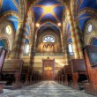 San Lorenzo cathedral interior. - Stock Photo