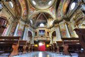 Sant Ambrogio church interior. — Stock Photo