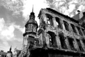 Ruins of Dresden. — Stock Photo