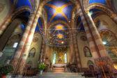 San lorenzo καθεδρικό ναό εσωτερικό. — Φωτογραφία Αρχείου