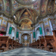 Sant Ambrogio church interior. — Stockfoto