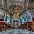 Sant Ambrogio church interior. - Stock Photo
