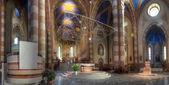San Lorenzo cathedral interior. — Stock Photo