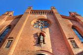サン ・ ロレンツォ大聖堂のファサード. — ストック写真
