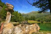 Small lake in Alps, Italy. — Stock Photo