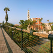 Panoramic view of Yafo. — Stock Photo