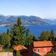 Panoramic view on Lake Maggiore. — Stock Photo #5964403