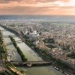Royalty-Free Stock Photo: Aerial panoramic view of Paris.