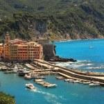 Small italian town on Mediterranean Sea. — Stock Photo #6068964