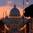 The Papal Basilica of Saint Peter in Vatican. — Stock Photo