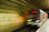 Metro in Prague. — Stock Photo