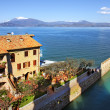 Stock Photo: View on Sirmione and Lake Garda.