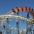 Roller coaster ride. — Stock fotografie
