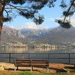 View on Lake Como and mountains. — Stock Photo #6132543