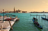 Venetian Grand Canal. — Stock Photo
