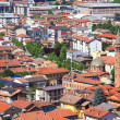 Stock Photo: Aerial view on Alba, Italy.