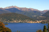 View on Lake Maggiore in Italy. — Stock Photo