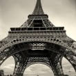 Vertical capture of Eiffel Tower. — Stock Photo #6369020