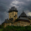 Old Castle. Thunderstorm. — Stock Photo #6420342