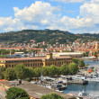 Royalty-Free Stock Photo: Panorama of La Spezia and naval base.