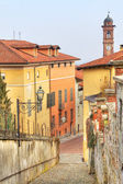 Old houses in Saluzzo, Italy. — Stock Photo
