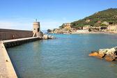 Recco - complejo turístico en italia. — Foto de Stock
