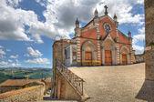 Old church in Castiglione Falletto, Italy. — Stock Photo