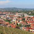 Stockfoto: Panoramic view on Alba, Italy.
