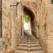 Stock Photo: Old street of Jerusalem.