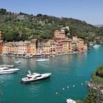 Panorama of Portofino. — Stock Photo
