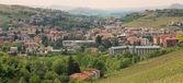 Panoramiczny widok na miasto z alba. — Zdjęcie stockowe