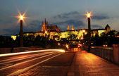Evening Prague. — Stock Photo