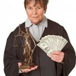 Stock Photo: Court fees