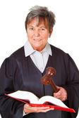 Female lawyer — Stock Photo