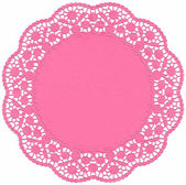 Pink Lace dolly — Stock Photo