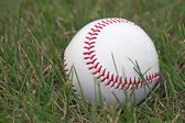 在这片草地棒球 — 图库照片