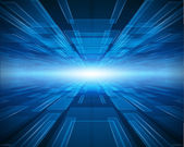 Fundo de vector espaço virtual tecnologia — Vetorial Stock