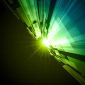 Virtuelle tecnology raum vektor hintergrund — Stockvektor