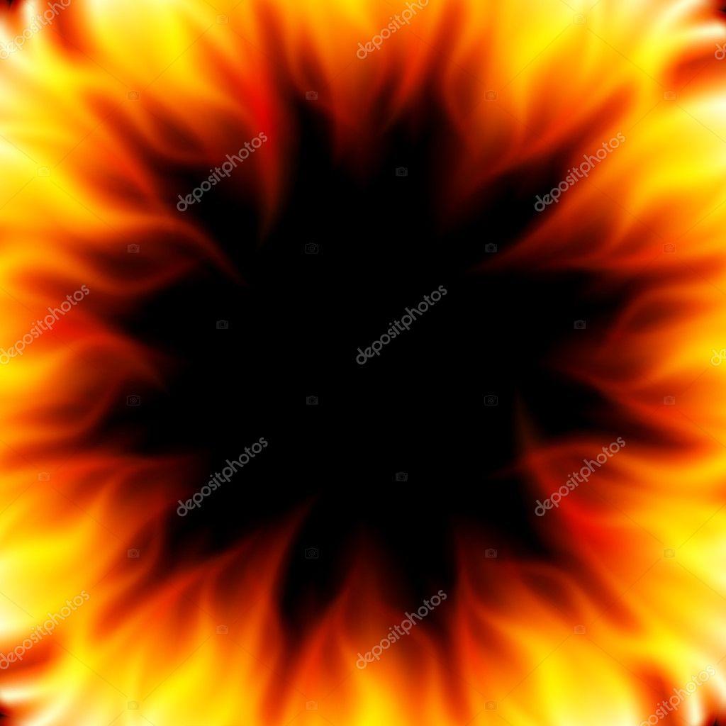 抽象顺利燃烧火焰火矢量背景