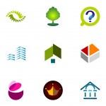 Logo design elements set 11 — Stock Vector