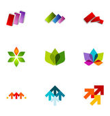 Logo design elements set 23 — Stock Vector