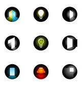 Logo designelementen 10 in te stellen — Stockvector