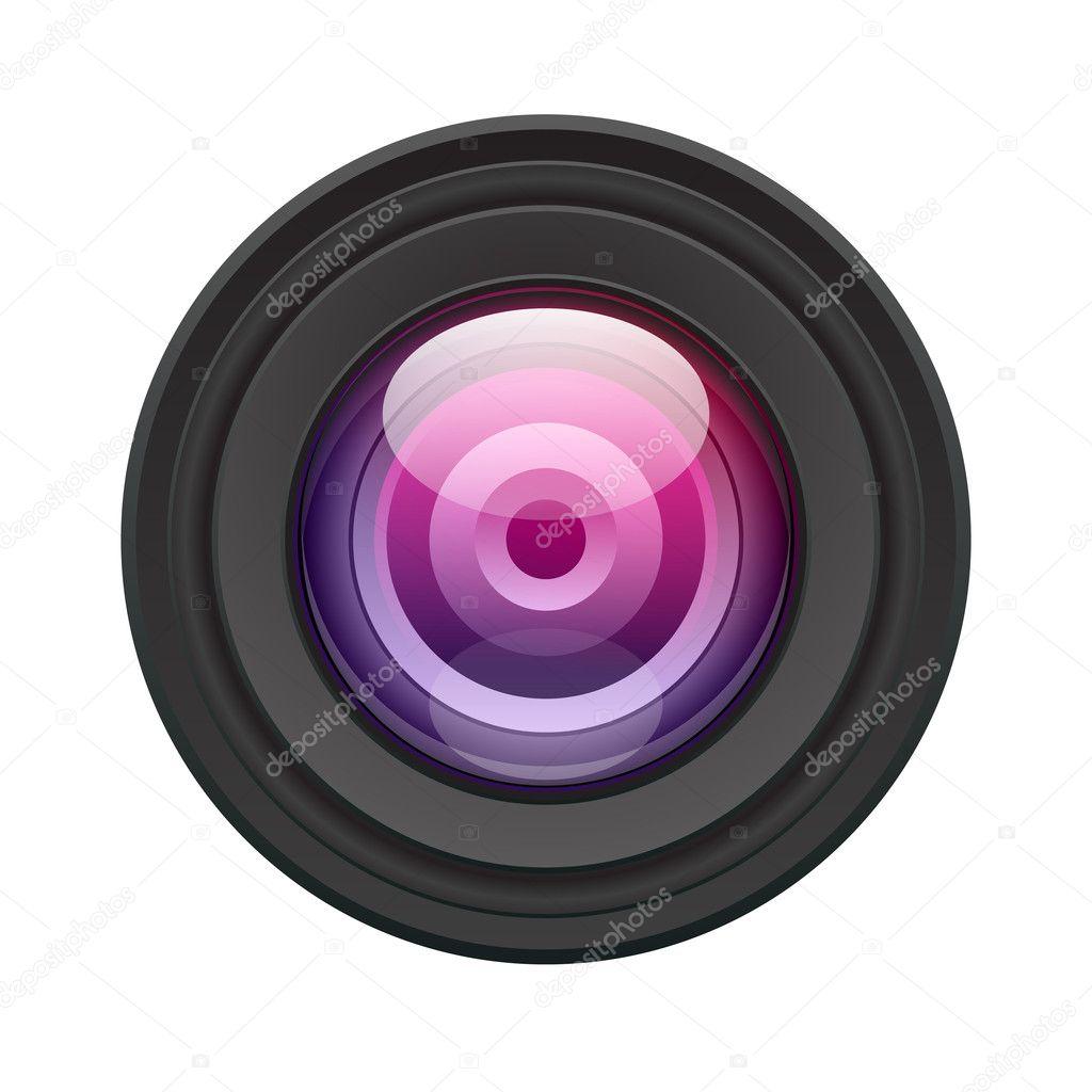 相机镜头矢量图