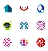 Logo design elements set 56 — Stock Vector
