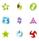 Logo design elements set 55 — Stock Vector