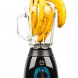 Blender with bananas - Stock Photo