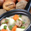 Irish stew, a specialty from Ireland — Stock Photo