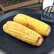 Stock Photo: Grilled corn on cob in pan