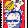Vintage  postage stamp.  Sergey Korolev. — Stock Photo
