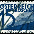 Vintage  postage stamp. Payment of the mail Austria. — Stock Photo